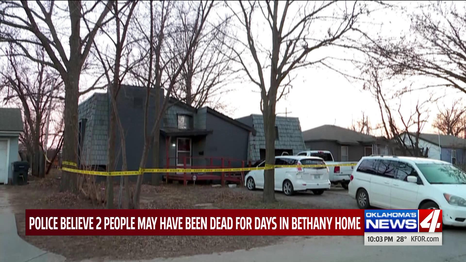 Bethany police investigate bodies found in home