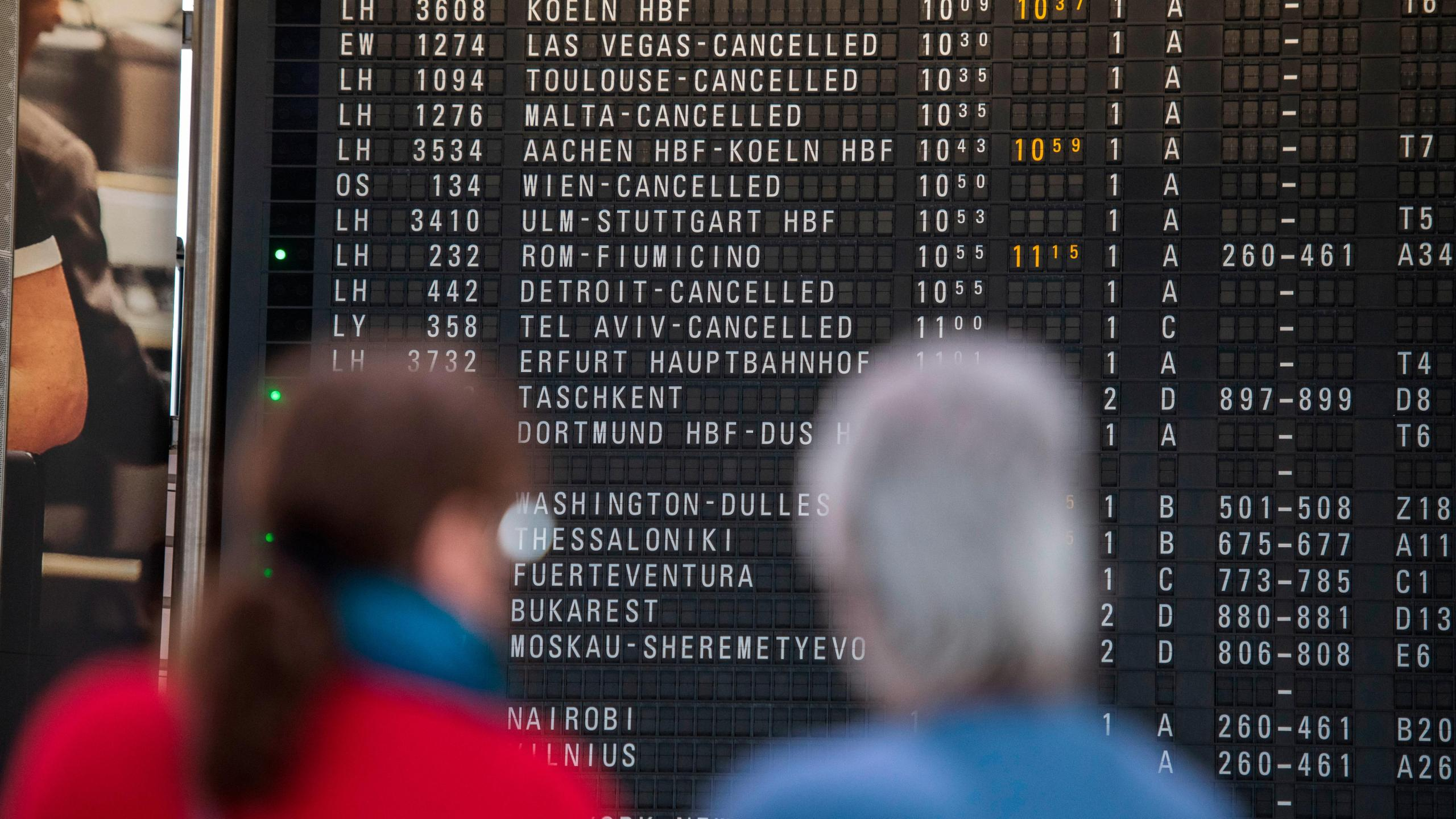 How passengers are reacting to the Europe travel ban   KFOR.com