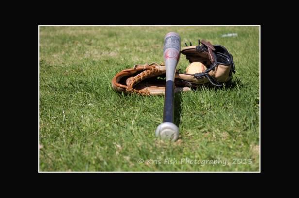 A ball, a bat, some gloves, and a dream