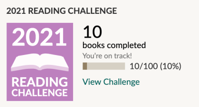 Goodreads Challenge Jan 21