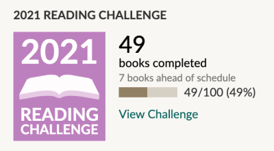 Goodreads Challenge May