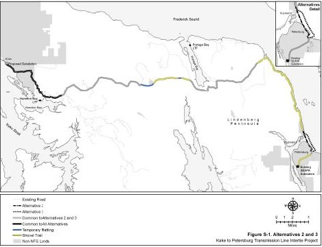 Forest Service releases review of proposed power line to