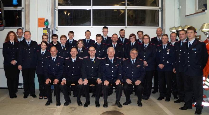Beginn der Truppmann-Teil-1-Ausbildung in der Freiwilligen Feuerwehr der Samtgemeinde Wathlingen