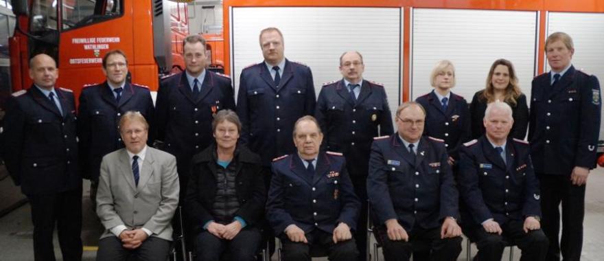 Jahreshauptversammlung der Ortsfeuerwehr Großmoor