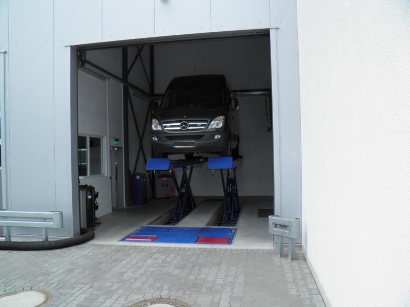 Auspuff Autowerkstatt repaieren