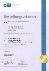 zertifikat bvsk