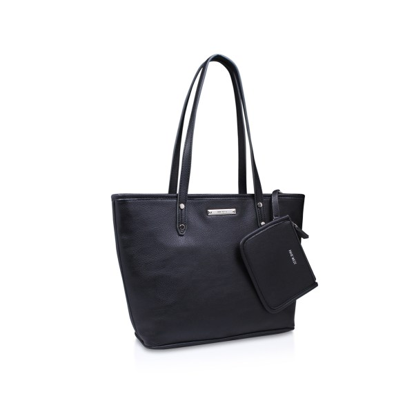 Society Girl Shp Nine West Black Handbag