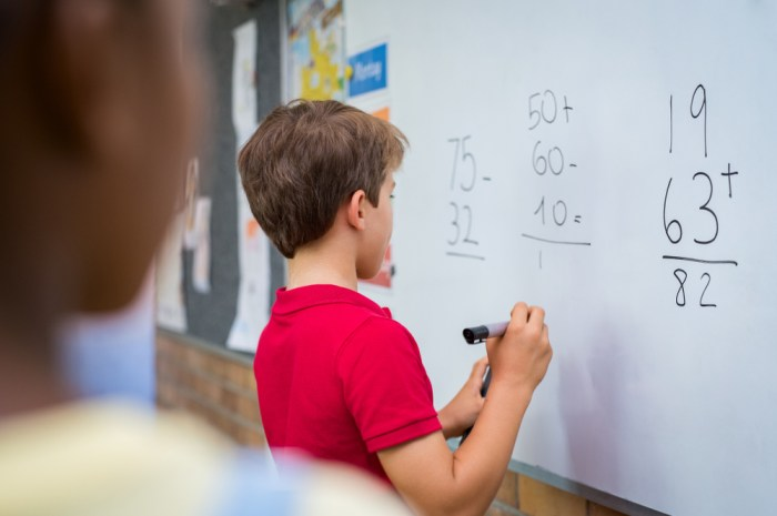 stimulate interest and involvement in mathematics for children aged five years old and older