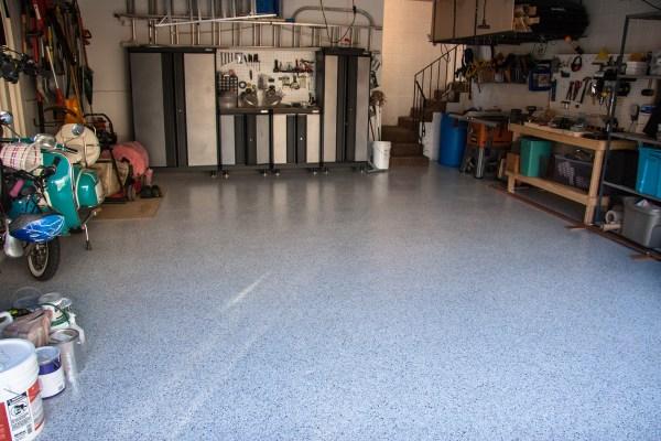 Cottonwood Heights Utah Garage Epoxy Floor Coating - Full View 02