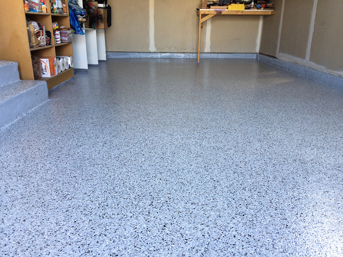 3 Car Garage Epoxy Floor  Coating