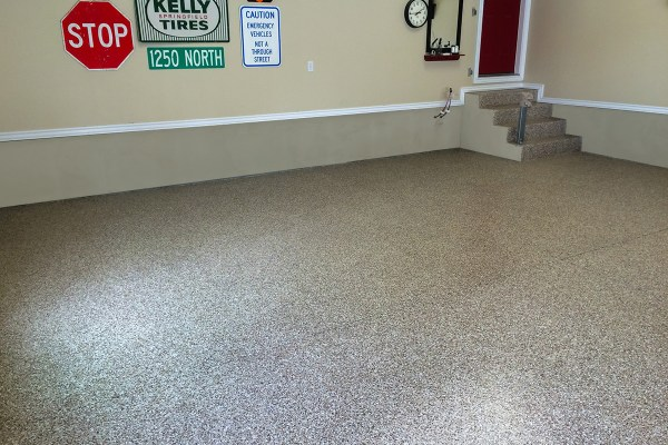 2 Car Garage Epoxy Floor Coating