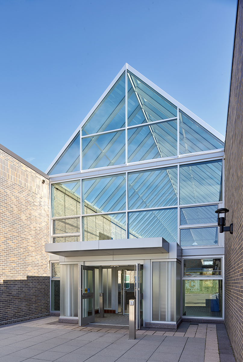 Suny Purchase College Physical Education Building Kg Amp D