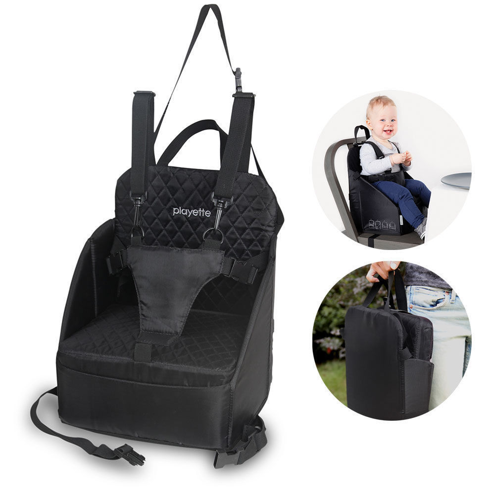 Booster High Chair Seat Details About Portable Foldable Travel Seat Booster Safety Dining High Chair Baby Toddler Blk