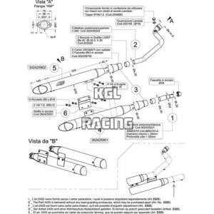 LEOVINCE SILVERTAIL pour HYOSUNG AQUILA GV 125/250 i.e