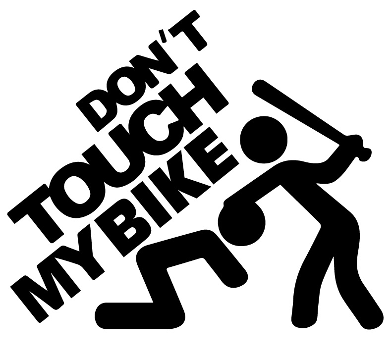Dont Touch My Bike Jersery