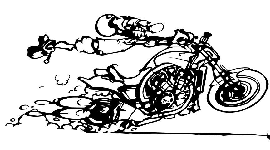 Muur stickers / Artwork : KGL Racing, de online motor shop