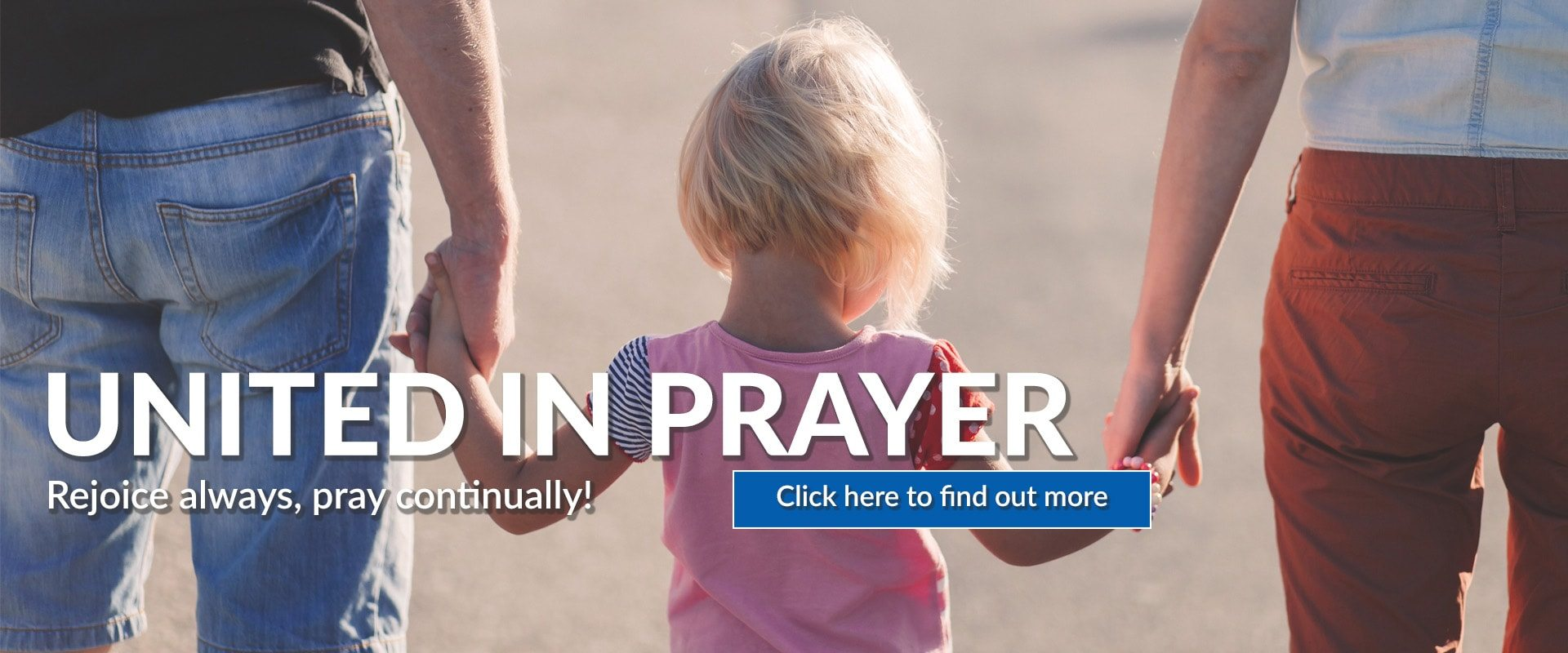 United in Prayer Web Graphic