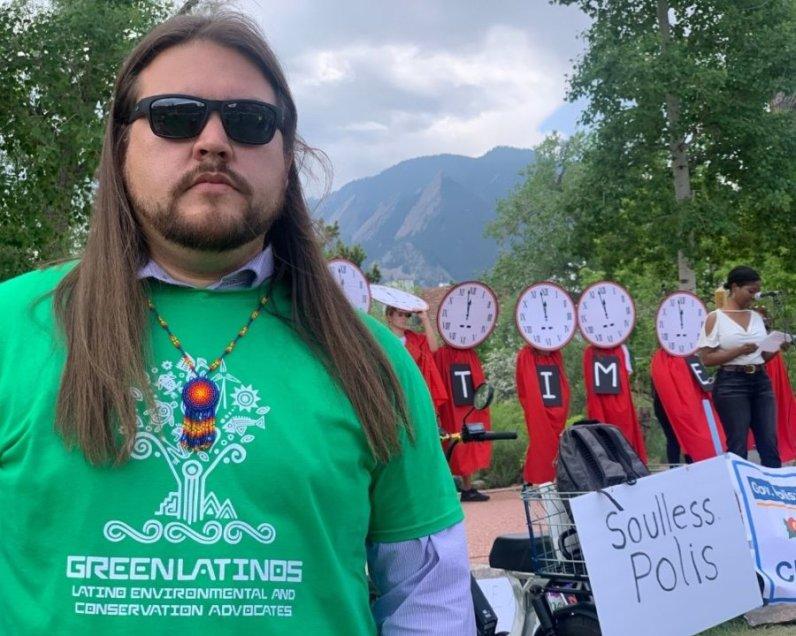 Ean Thomas Tafoya of GreenLatinos