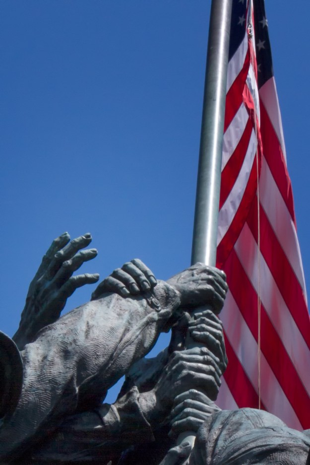 130607_IwoJima_Hands by Karl G. Graf.