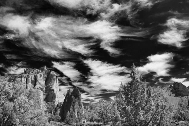 130818_SmithRocks_Clouds by Karl G. Graf.