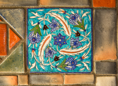 141201_Persian Tile 2 by Karl Graf.