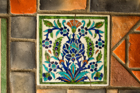141201_Persian Tile 3 by Karl Graf.