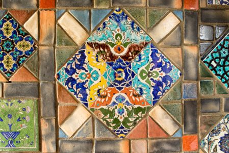 141201_Persian Tile 4 by Karl Graf.