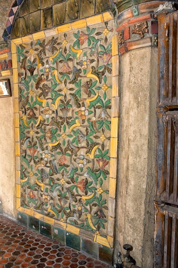 Center Hall Mercer Tile Mosaics by Karl Graf.