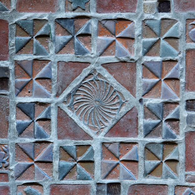 Map Room Floor Tiles by Karl Graf.