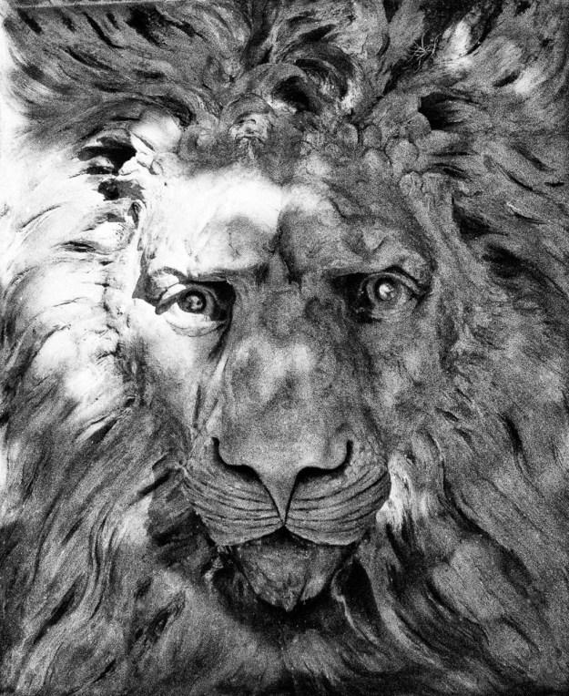 150224_LionHead_FlaglerCollege_StAugustine by Karl G. Graf.