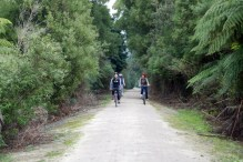 Great Southern Rail Trail near Foster