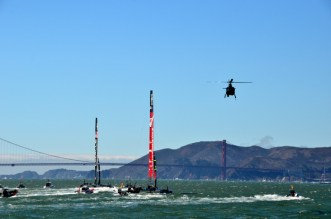 The America's Cup finalists