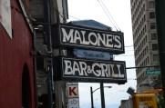 Malone's Bar & Grill.