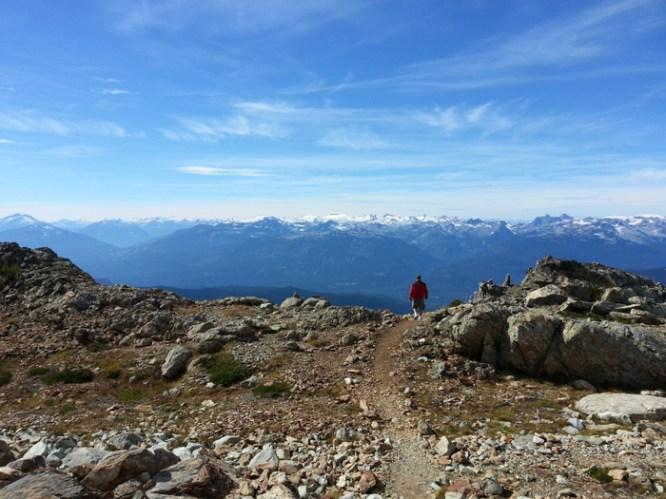 Whistler Mountain summit