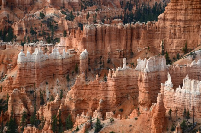 Hoodoos from Inspiration Point