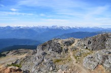 View from Whistler Summit