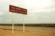 Crossing the Nullarbor Plain in Australia