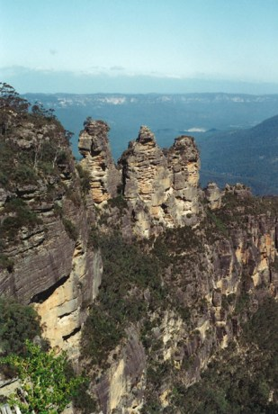 Hiking in the Blue Mountains, Australia