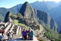 Trekking to Machu Picchu, Peru