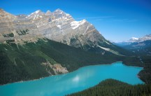 Seeing the glacial lakes in the Canadian Rockies