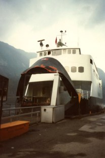 Ferry at Aurlandsfjord