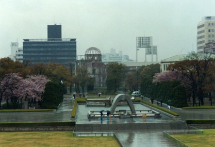 Hiroshima's Peace Park and the Flame of Peace