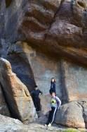 Huge boulders on Pinnacle hike
