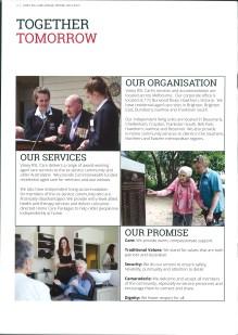 Vasey RSL Care brochure