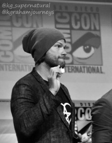 Jared Padalecki at SDCC 2016