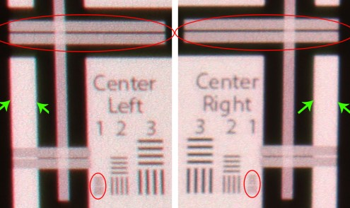Celluon 72-in diag left-right targets