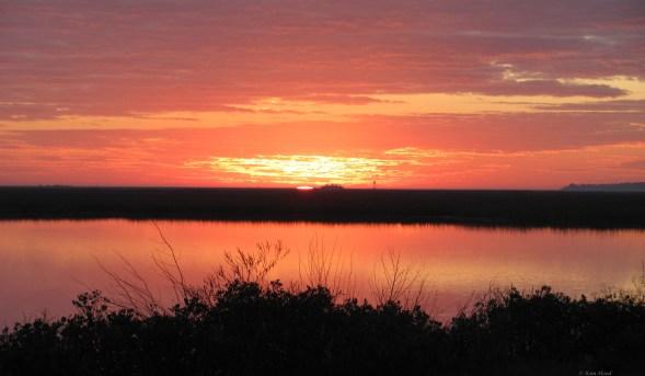 Marshes Sunrise 3