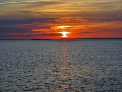 St. Simon's Sunset 12/5/12