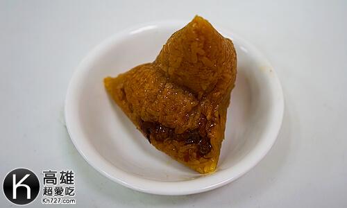 《龐家肉粽》比一般粽子大顆