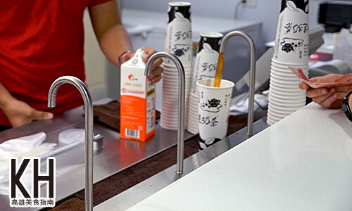 《樺達奶茶》傳統的飲料管